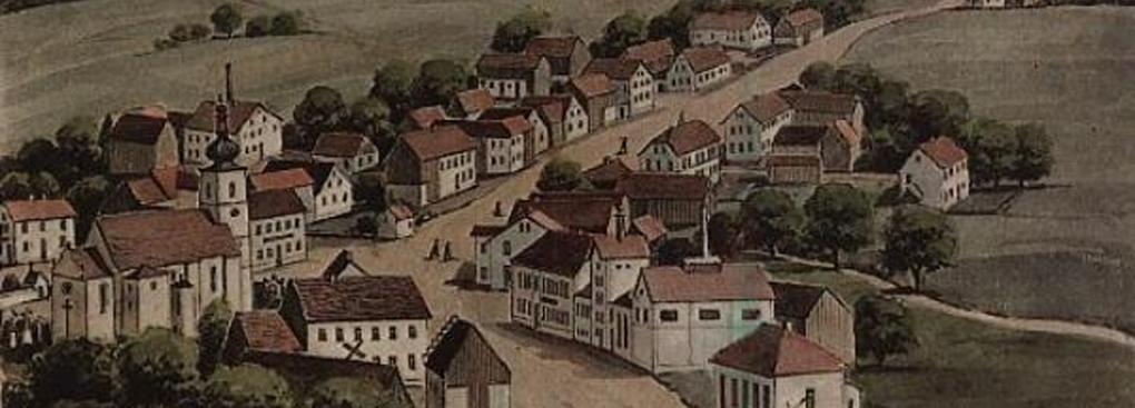 Ansichtskarte von 1918